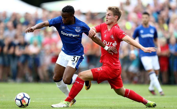 Joachim Andersen in actie namens FC Twente.