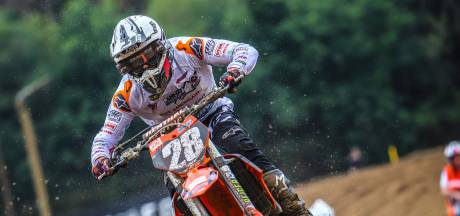 Motorcrosser Kay Ebben is maar wat trots op onverwacht debuut MXGP