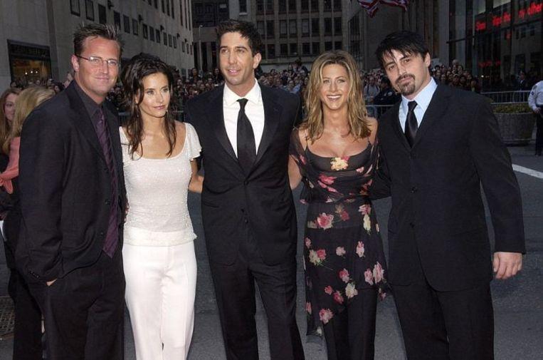 De 'Friends'-cast Beeld Getty Images