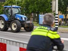 Deel demonstrerende boeren vrijgelaten na actie in Wijster