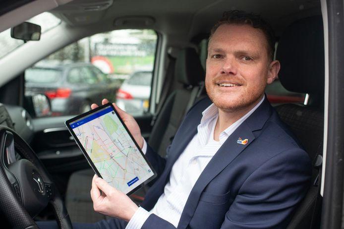 Edwin Van Walsum toont de app