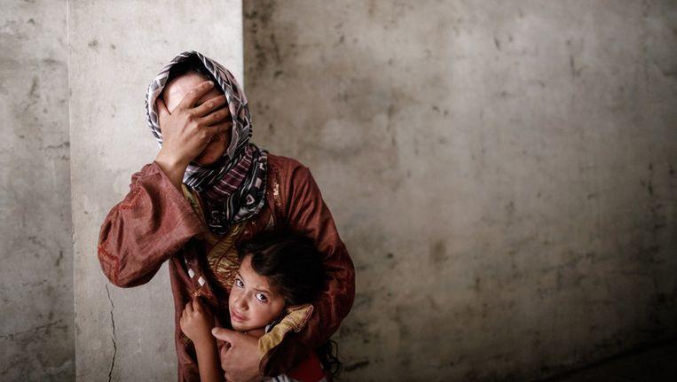 Een Syrische vluchteling (niet Rana uit het verhaal). Beeld AFP