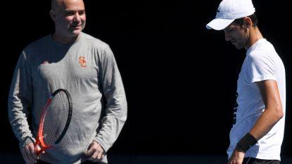 Wegen Djokovic en Agassi scheiden - Zverev vervoegt Isner in Miami-finale
