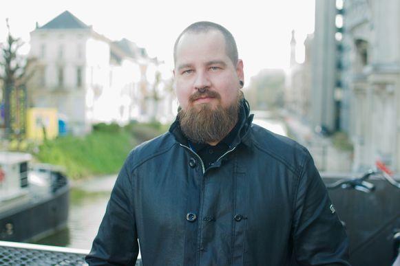 Kaj Poelman (34) - Vaste bezoeker en vrijwilliger.