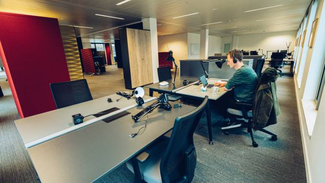 Naar de les in de co-workingspace: studenten Arteveldehogeschool krijgen 'campus' bij communicatiebureau