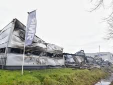 Schade na brand bij RMR Interieurbouw in Moergestel is enorm, pand als verloren beschouwd