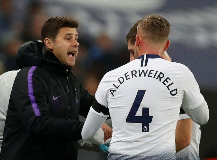 Toby Alderweireld zal bij Tottenham niet langer coach Pochettino tegenkomen.