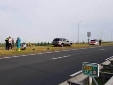 Motorscooter botst met auto op N207 bij Alphen