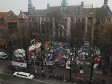 Amsterdamse ondernemers willen Occupykamp weg hebben