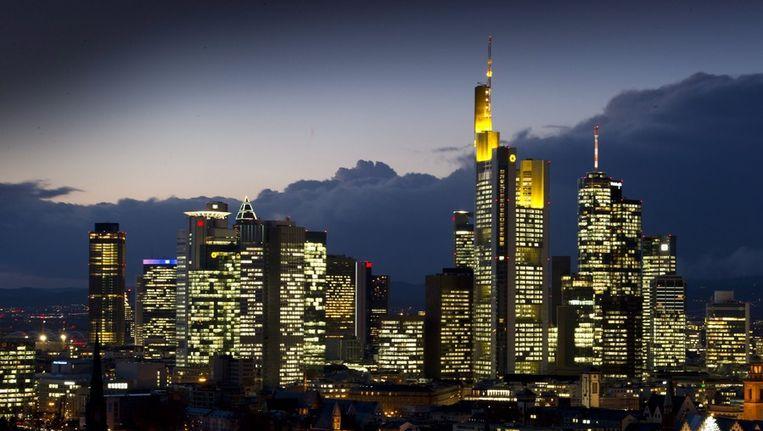 De skyline van Frankfurt. © EPA Beeld