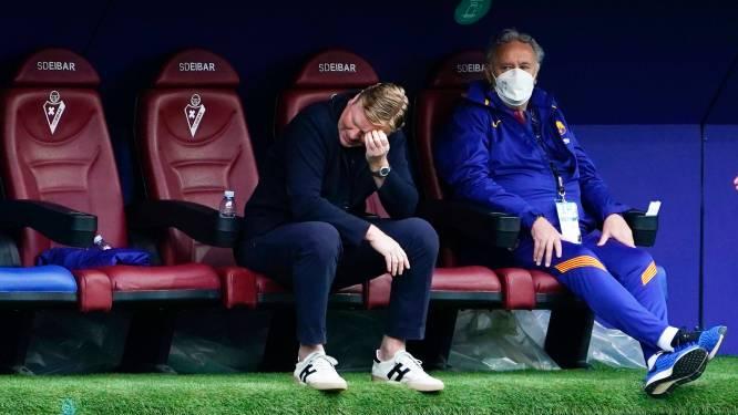 """Koeman stuurt spelers Barça op vakantie: """"Ik blijf net zo lang tot iemand zegt dat het over is"""""""