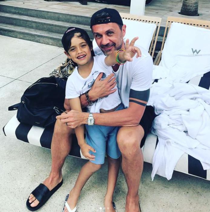 Vader en zoon Maldini