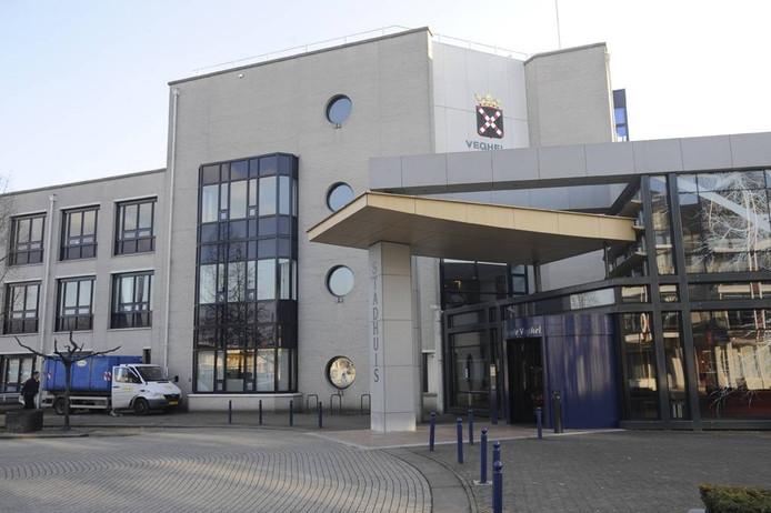 Het gemeentehuis van Veghel.