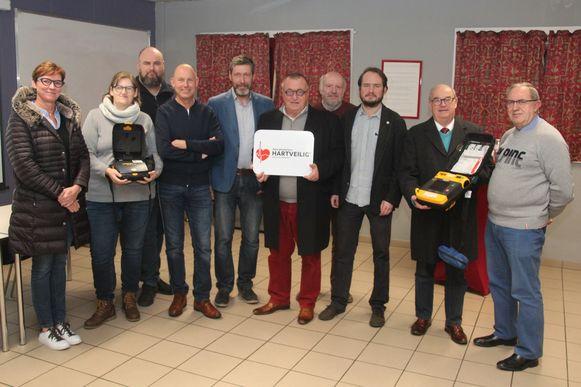 Het Rode Kruis beloonde de inspanningen van de gemeente Lede met de titel van 'Hartveilige gemeente'.