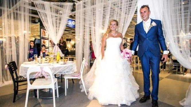 Ikea organiseert nu blijkbaar ook huwelijksfeesten