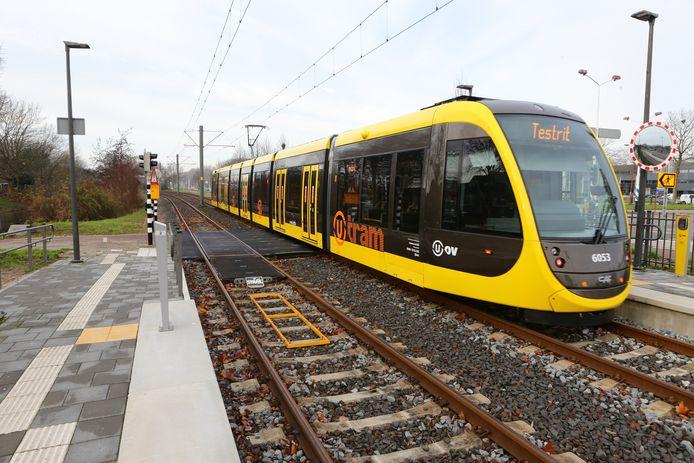Een tram in de regio Utrecht.