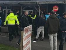 Politie grijpt in bij rellen wedstrijd SV Spakenburg