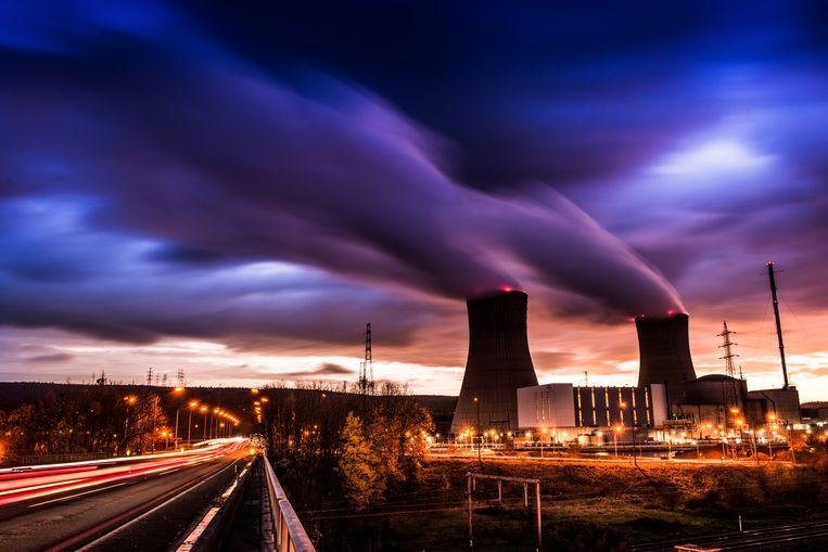 Kerncentrale van Tihange Beeld © Bart Leye