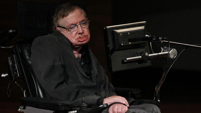 Eind oktober liet Hawking nog de grootste aula van de K.U. Leuven vollopen.