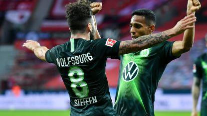 Verdiende overwinning voor Casteels en co: Wolfsburg vernedert zwak Leverkusen op eigen veld met 1-4