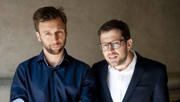 Daniël van der Meer (l) en Toine Donk zijn de drijvende krachten achter Das Magazin Beeld An-Sofie Kesteleyn