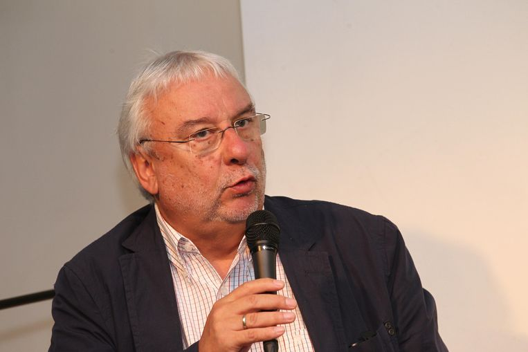 Mark Vanlombeek. Beeld BELGA
