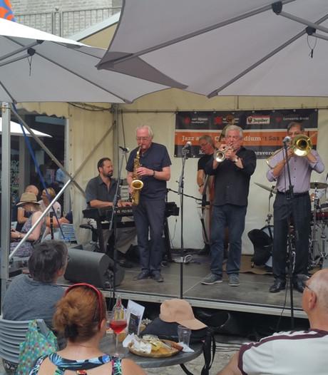 Het laatste kunstje van The Syncopators tijdens Breda Jazz Festival