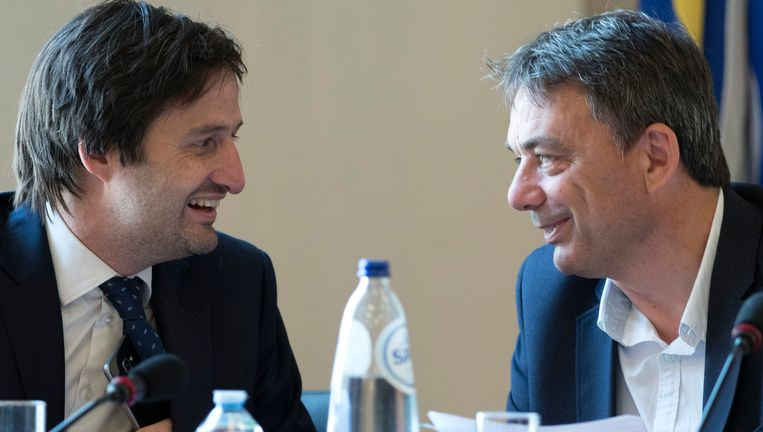 Nicolas Ledent en Wilbert Stoefs. Beeld photo_news