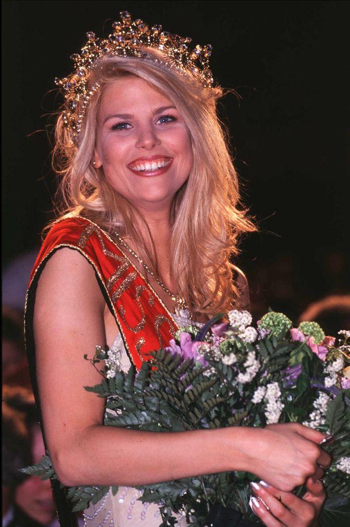 Tanja Dexters lors de son élection en 1998.