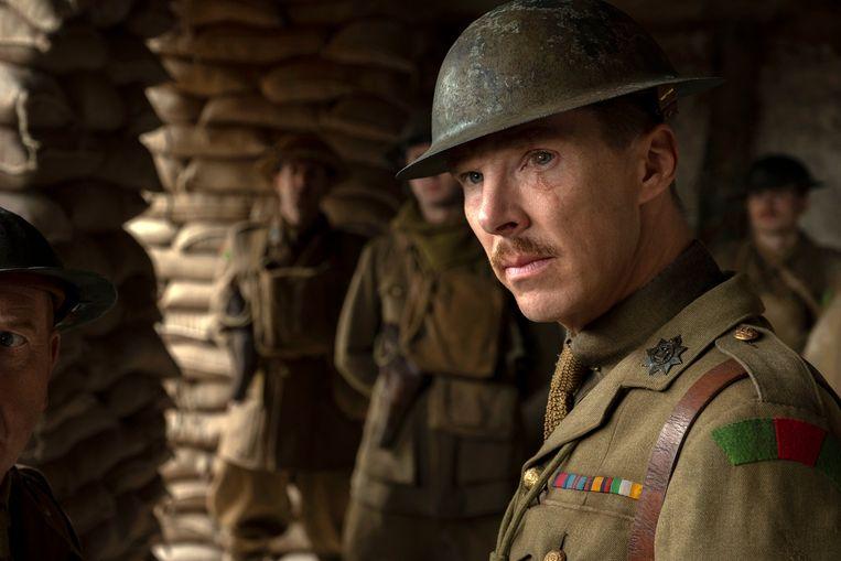 Kolonel MacKenzie (Benedict Cumberbatch) in '1917'. Beeld AP