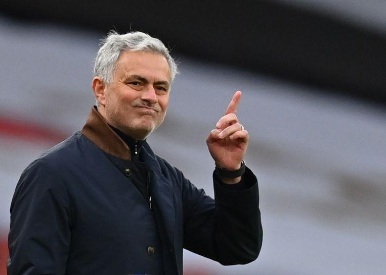 José Mourinho. Beeld  REUTERS