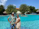 André en Margot van Ramesdonk uit Hoofddorp blijven nog twee weken langer op Curaçao nu de coronamaatregelen in Nederland zijn aangescherpt.
