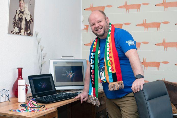 Patrick Huisman is delegation host bij het Eurovisie Songfestival.