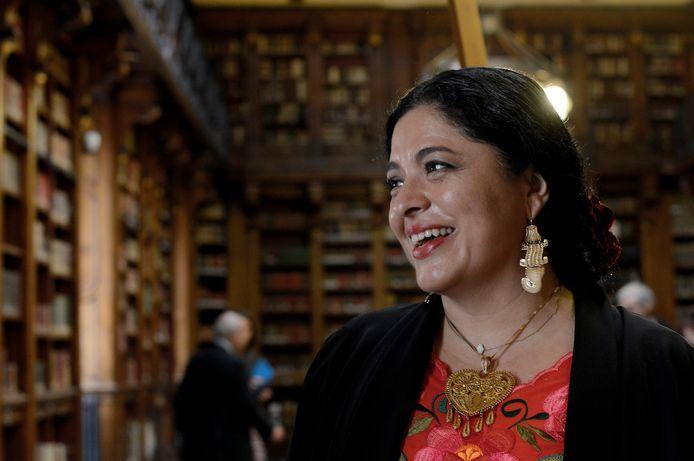 De Mexicaanse minister van Cultuur, Alejandra Frausto.
