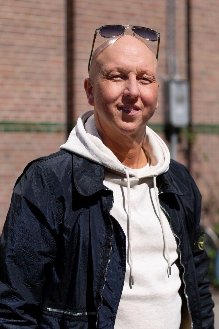 Erny van den Bergh (47): 'De gezelligheid van de markt heb ik nog meer gemist dan het geld in het laatje.' Beeld Susanne Stange