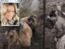 Kelly van der Veer trekt zich het lot van de hongerende dieren bij de Oostvaardersplassen erg aan