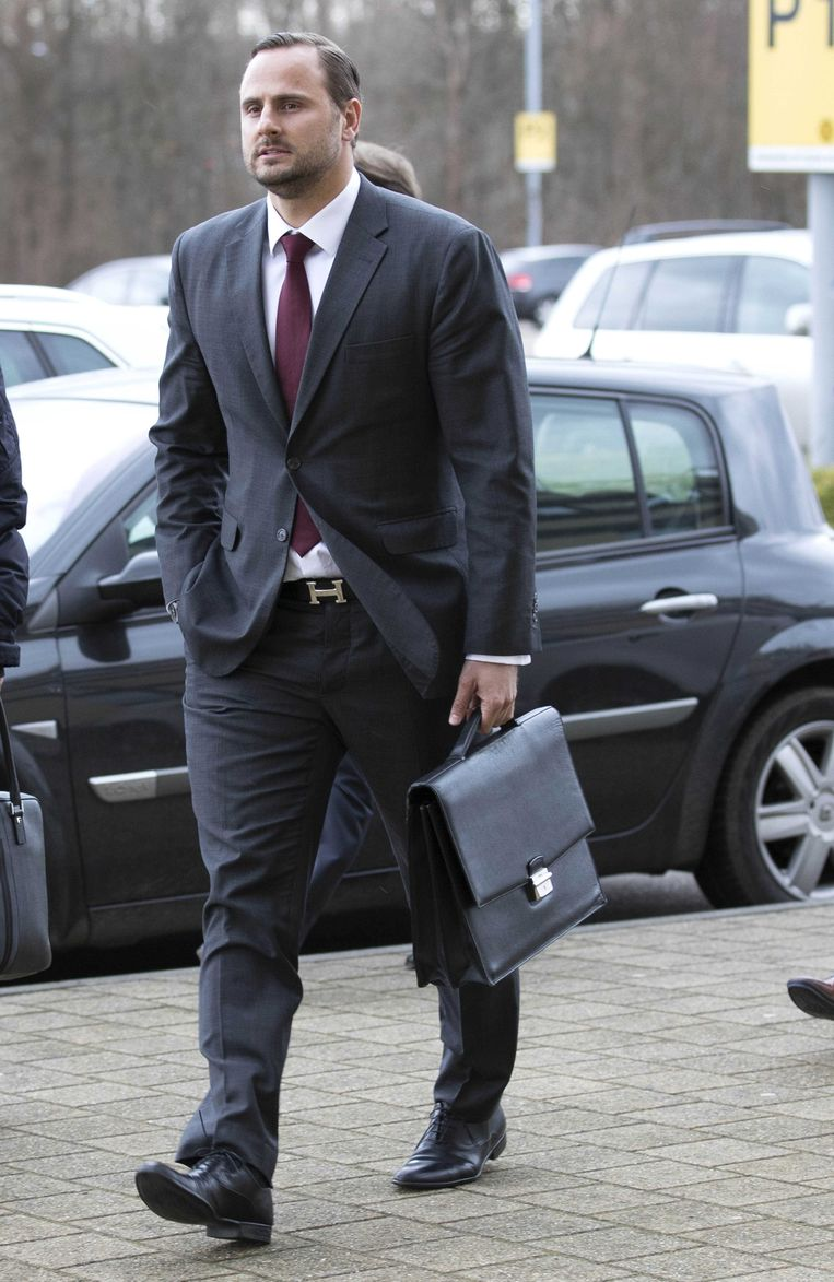 Aleksei Korotajev komt aan bij Roda JC. Beeld ANP