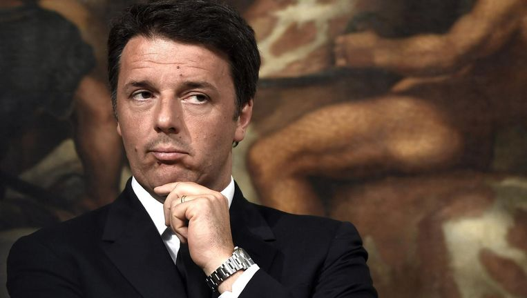 Matteo Renzi. Beeld Foto Contrasto/HH