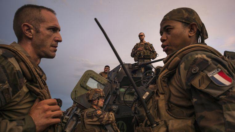Het Franse budget voor defensie gaat met ruim 10procent (3,8miljard euro) omhoog. Beeld Gerrit-jan Ek000