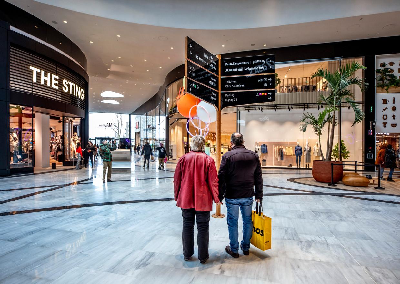 Een bijna ouderwetse glamour in The Mall of the Netherlands in Leidschendam Beeld Raymond Rutting / de Volkskrant
