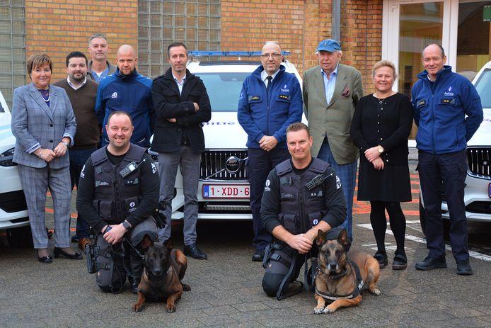 De politiezone Damme/Knokke-Heist investeert in nieuwe wagens voor hondenpolitie