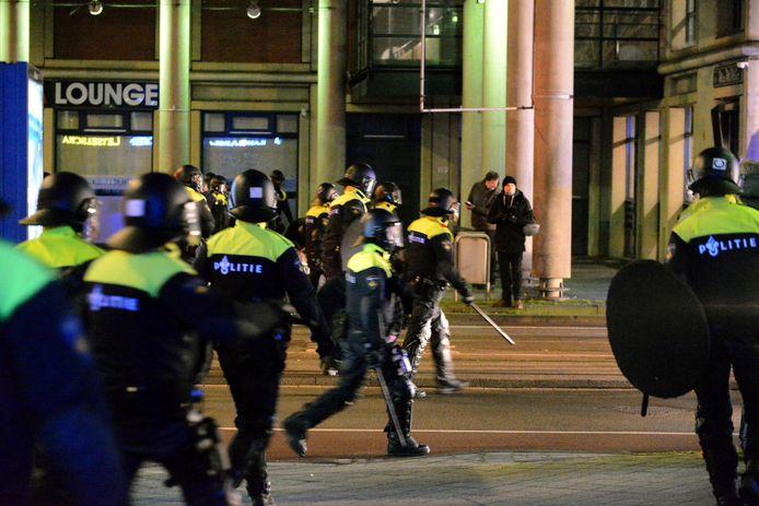 Rellen in Den Haag