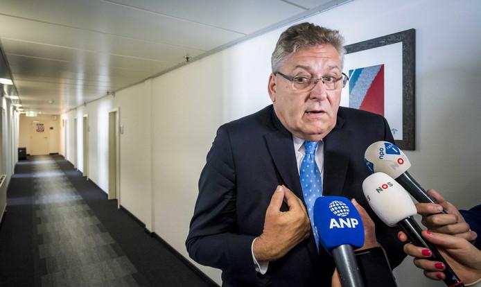 Partijleider Henk Krol