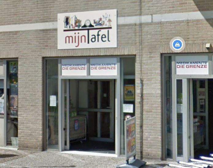 De entree van Mijn Tafel aan de Spoorstraat 14 in Winterswijk.