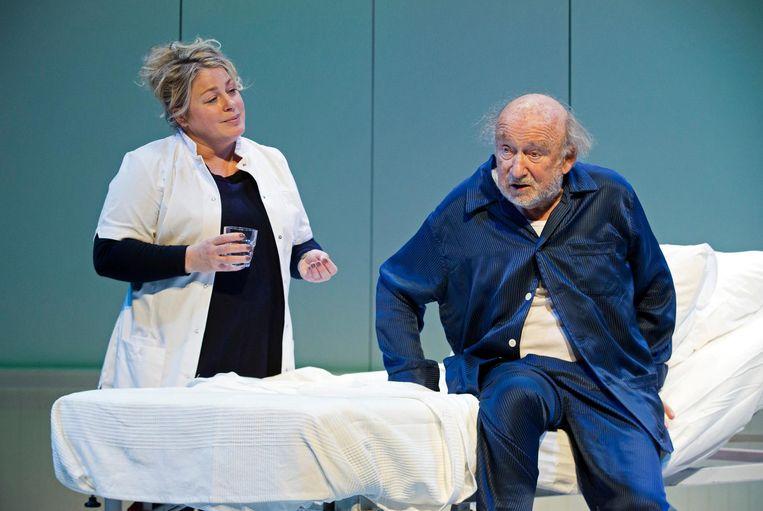 Hans Croiset als André in De Vader. Beeld Leo Van Velzen