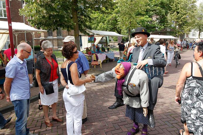 In Gemert wordt zondag 18 augustus voor de 16e keer de jaarlijkse Kunstmarkt gehouden (archieffoto).