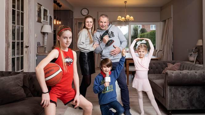 """Je kinderen goed opvoeden, hoe doe je dat? Zo pakt het nieuw samengesteld gezin van Tony (45) en Roselien (38) het aan: """"Ik leg de lat bewust minder hoog dan mijn ouders"""""""