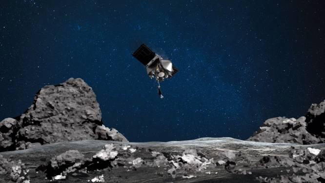 Ruimtesonde verzamelt materiaal van ruimterots op 333 miljoen kilometer afstand van aarde