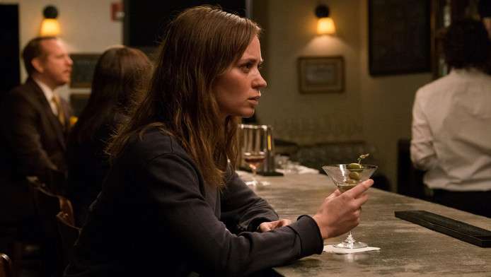Emily Blunt als alcoholiste Rachel in The Girl on the Train.