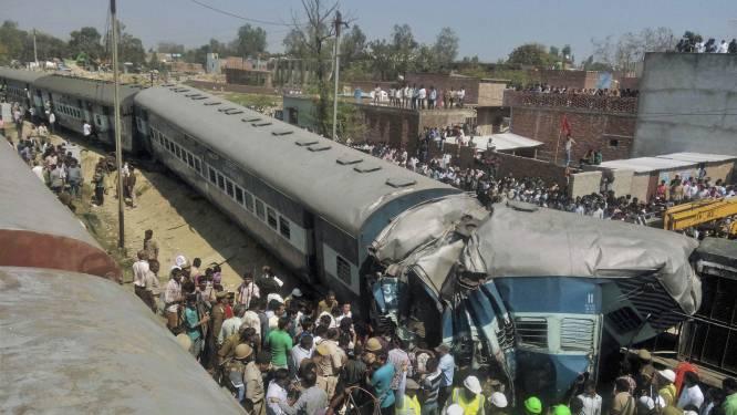 Minstens 30 doden bij treinongeval in India